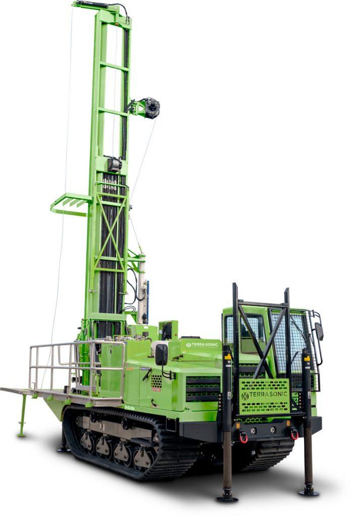 TSI 150C Crawler Sonic Drill Rig