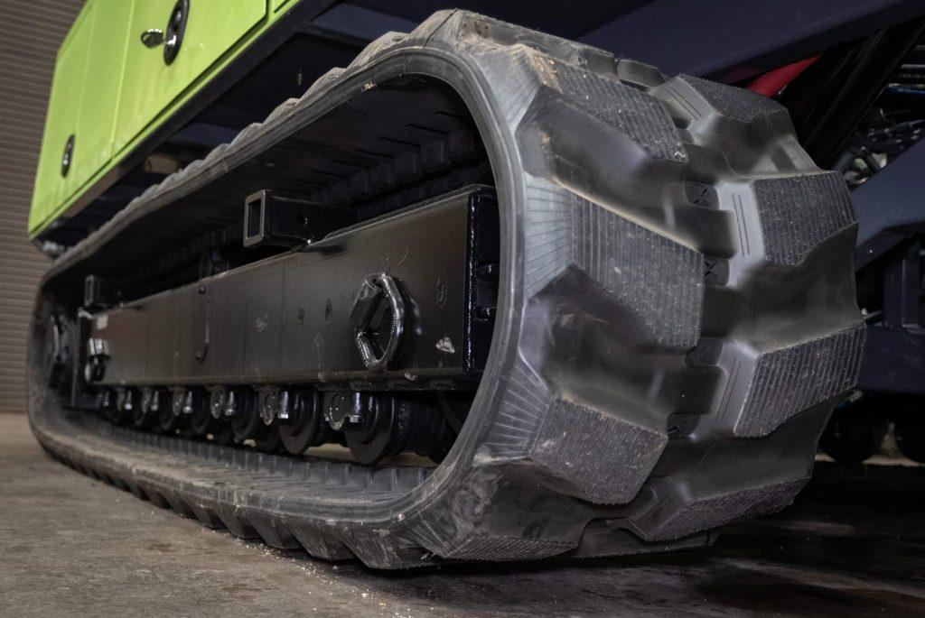 TSi 150CC Compact Crawler Drill Rig tracks