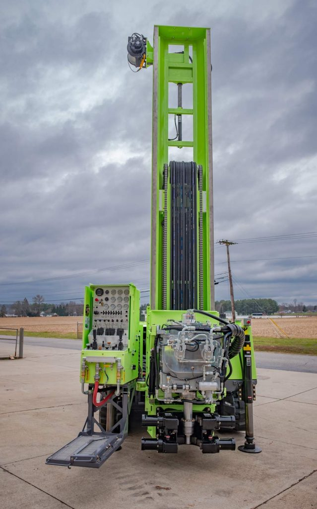 TSi 150CC Compact Crawler Drill Rig front view
