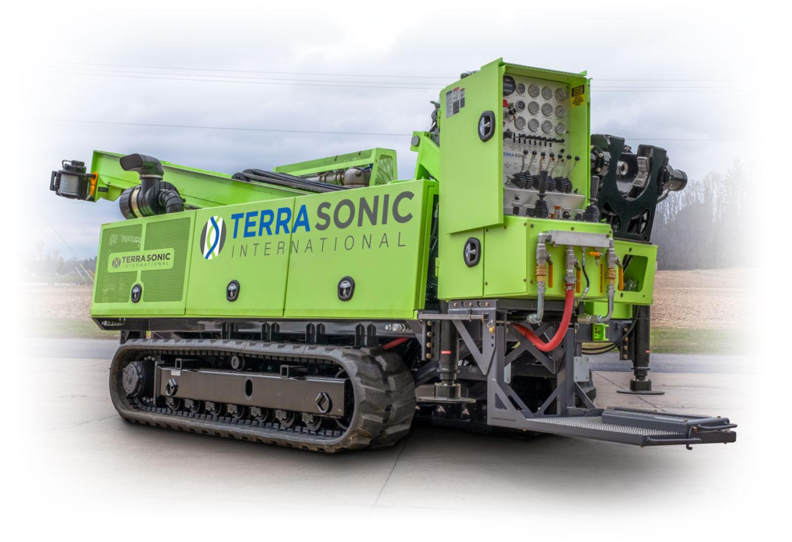 TSi 150CC Sonic Drill Rig