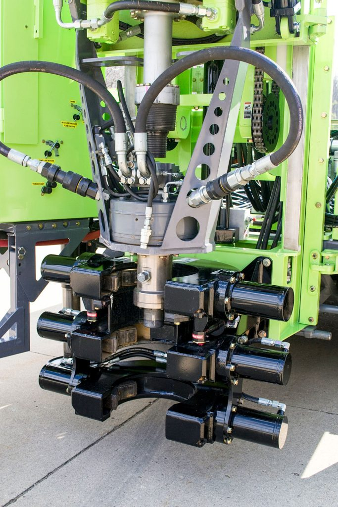 Diamond coring option for Sonic drill rig