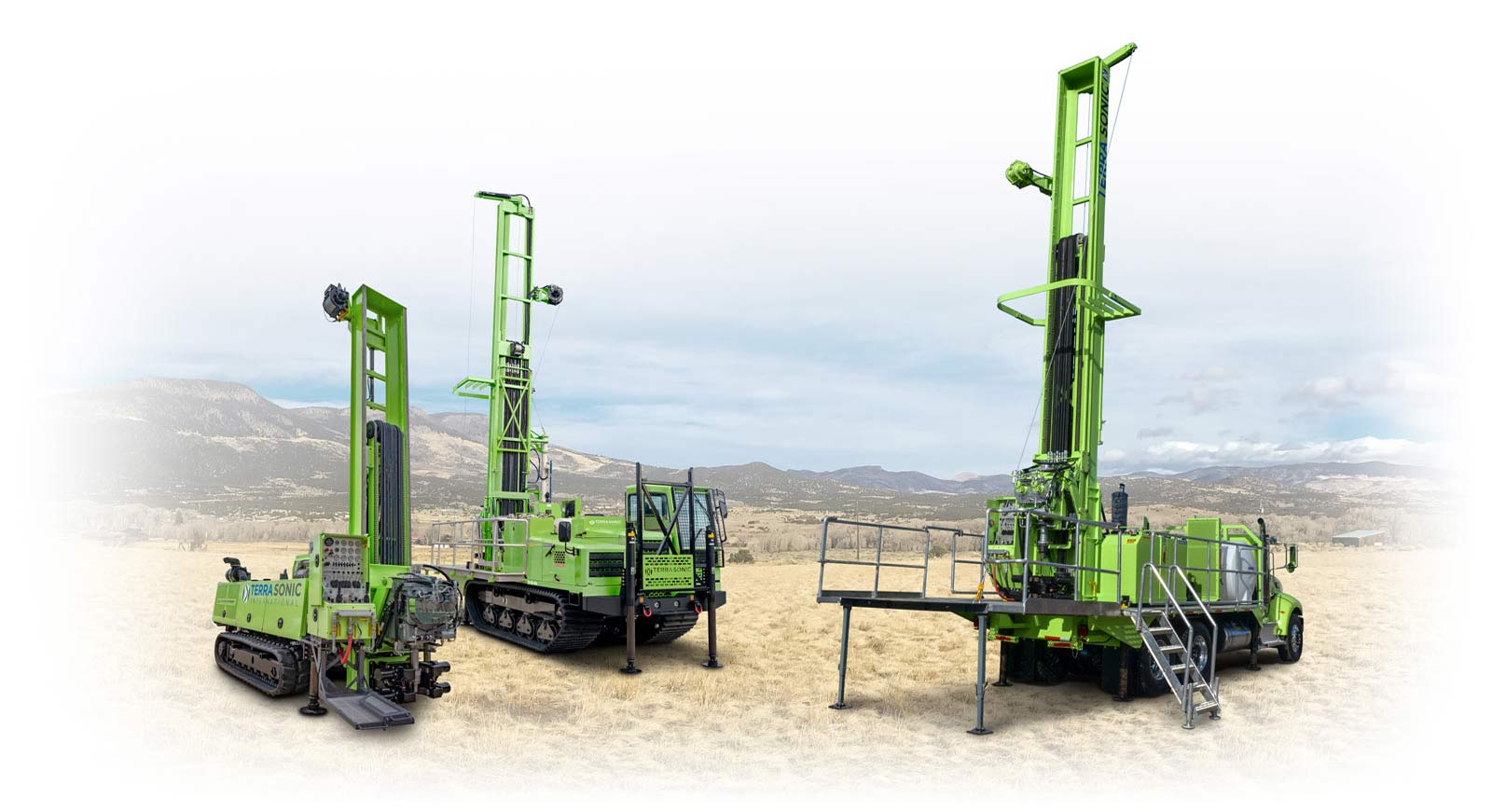 Sonic Drill Rigs from TSi